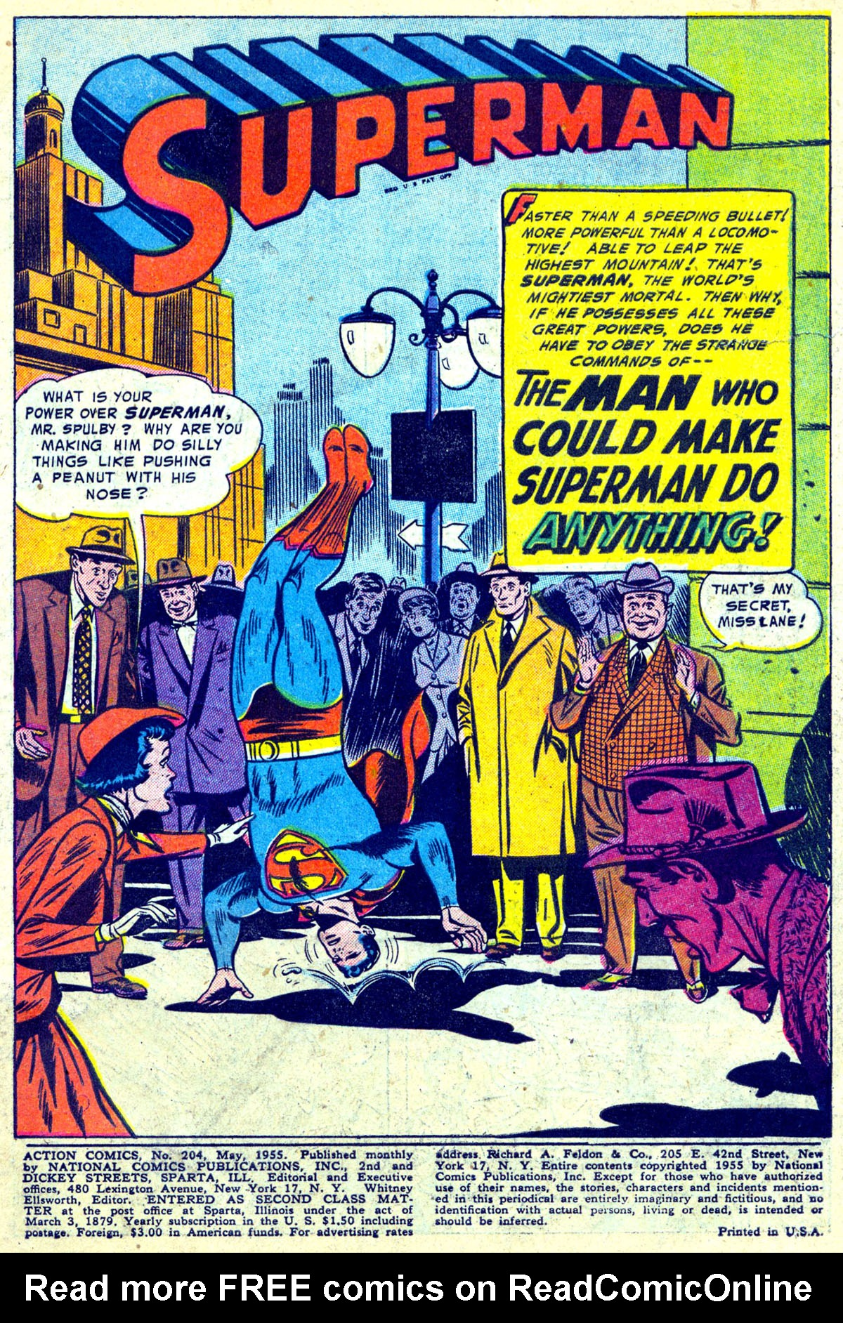 Read online Action Comics (1938) comic -  Issue #204 - 2