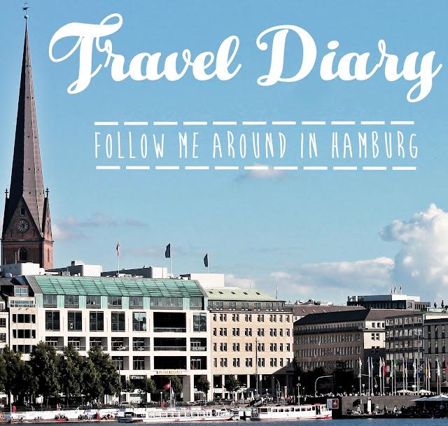 Travel Diary mit Reisetipps für Hamburg, Germany