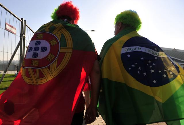Português e brasileiro