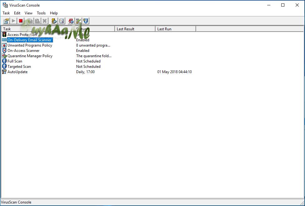 McAfee VirusScan Enterprise kuyhaa