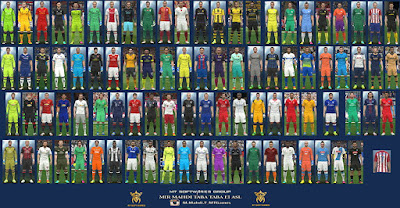 PES 2016 New Kits 2016-17 v.2.3 by MT Games 1991