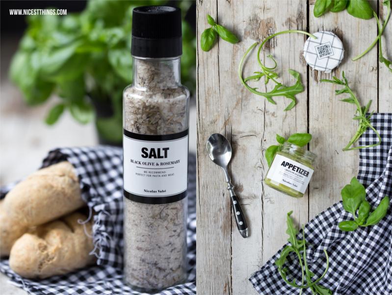 Salz und Appetizer von Nicolas Vahé