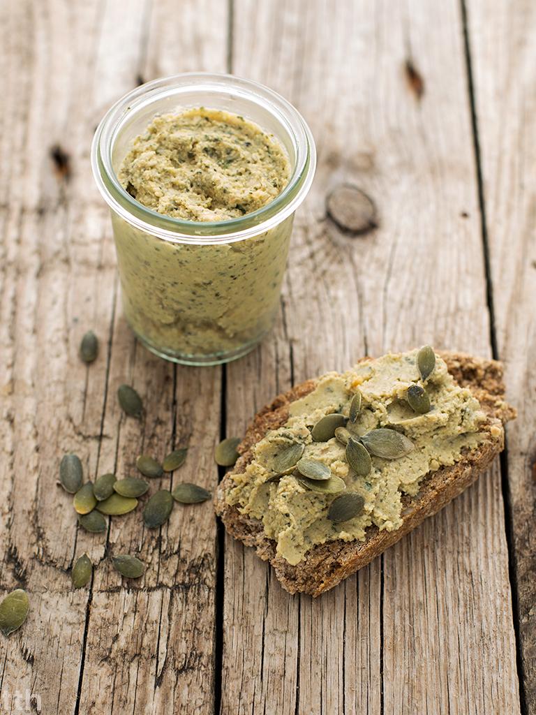 pasta z ciecierzycy wegańska bezglutenowa roślinny przepis blog