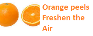Orange peels Freshen the Air - Oranges citrus fruit peel (Santre Ke Chilke)