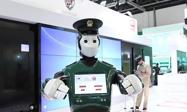 Real Robocop Will Serve in Dubai