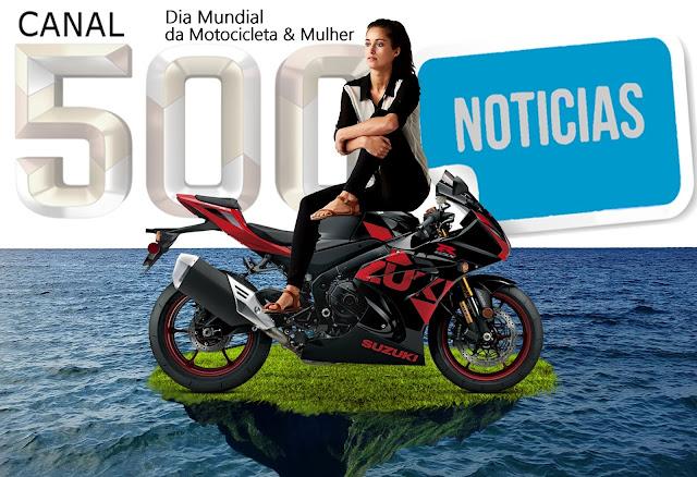 DUAS MAQUINAS QUE MERECEM RESPEITO  DIA DA MULHER & MOTOCICLETA