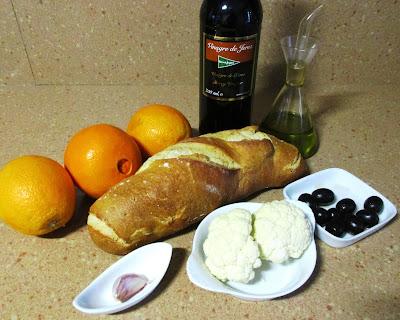 porra de naranja alocados en la cocina