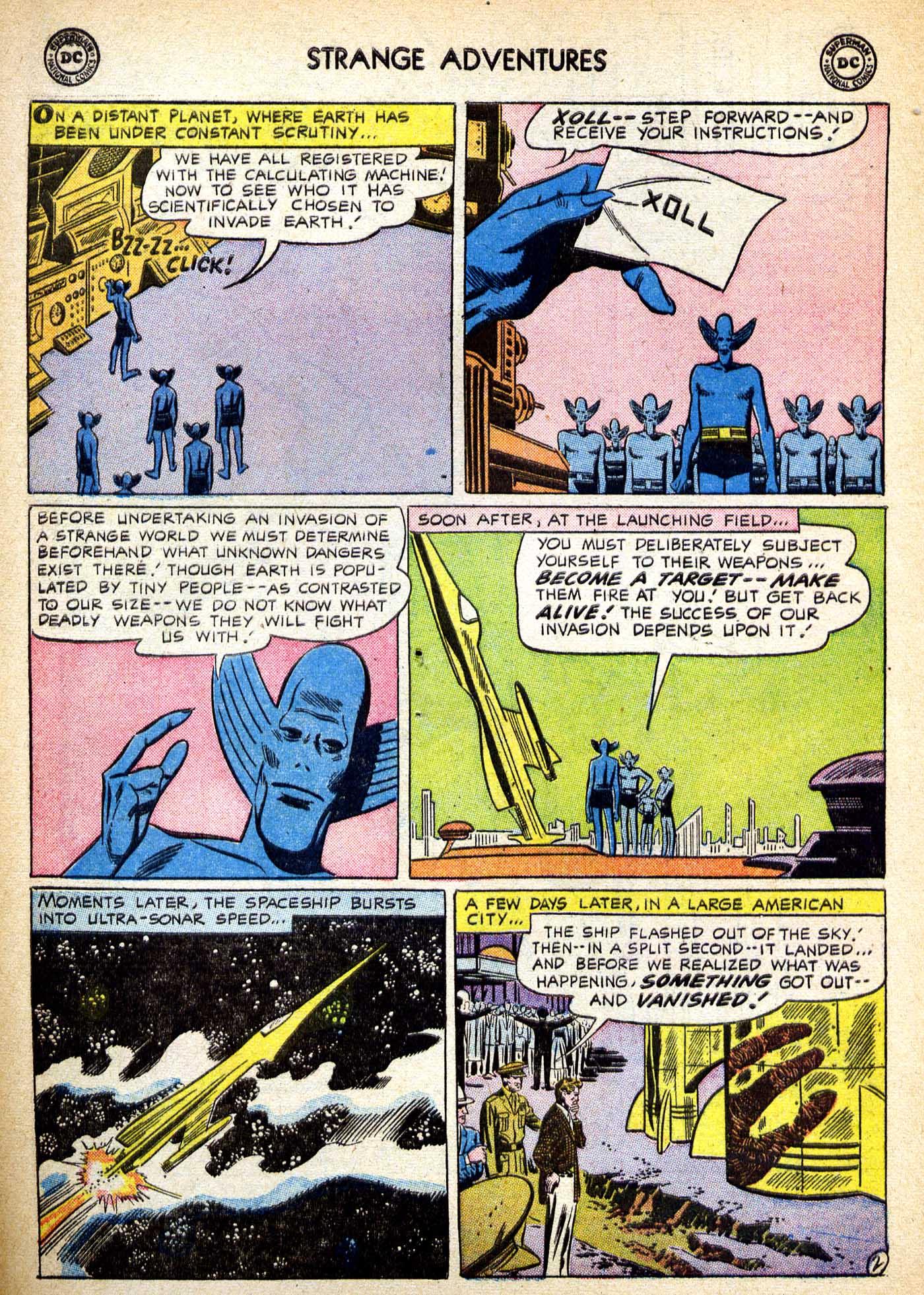 Strange Adventures (1950) issue 82 - Page 3