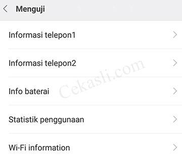 menu rahasia Xiaomi muncul