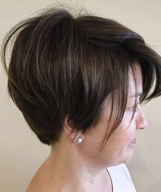 short hairstyles for over 40 fine hair