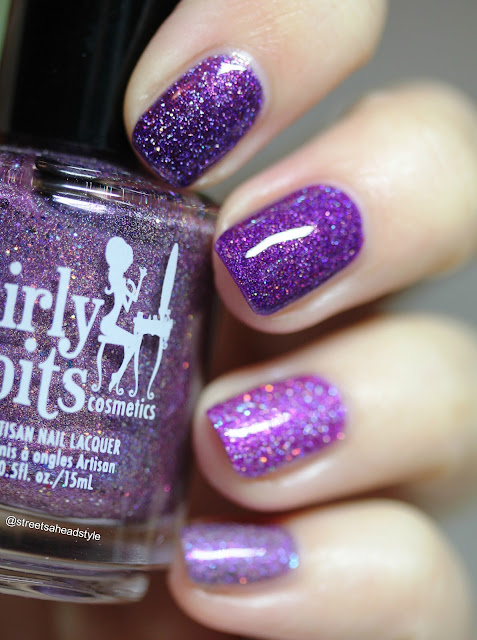 Girly Bits Purple Nail Polish