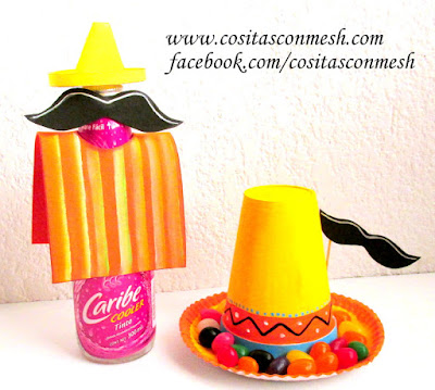 botellas-decoradas-fiesta-mexicana