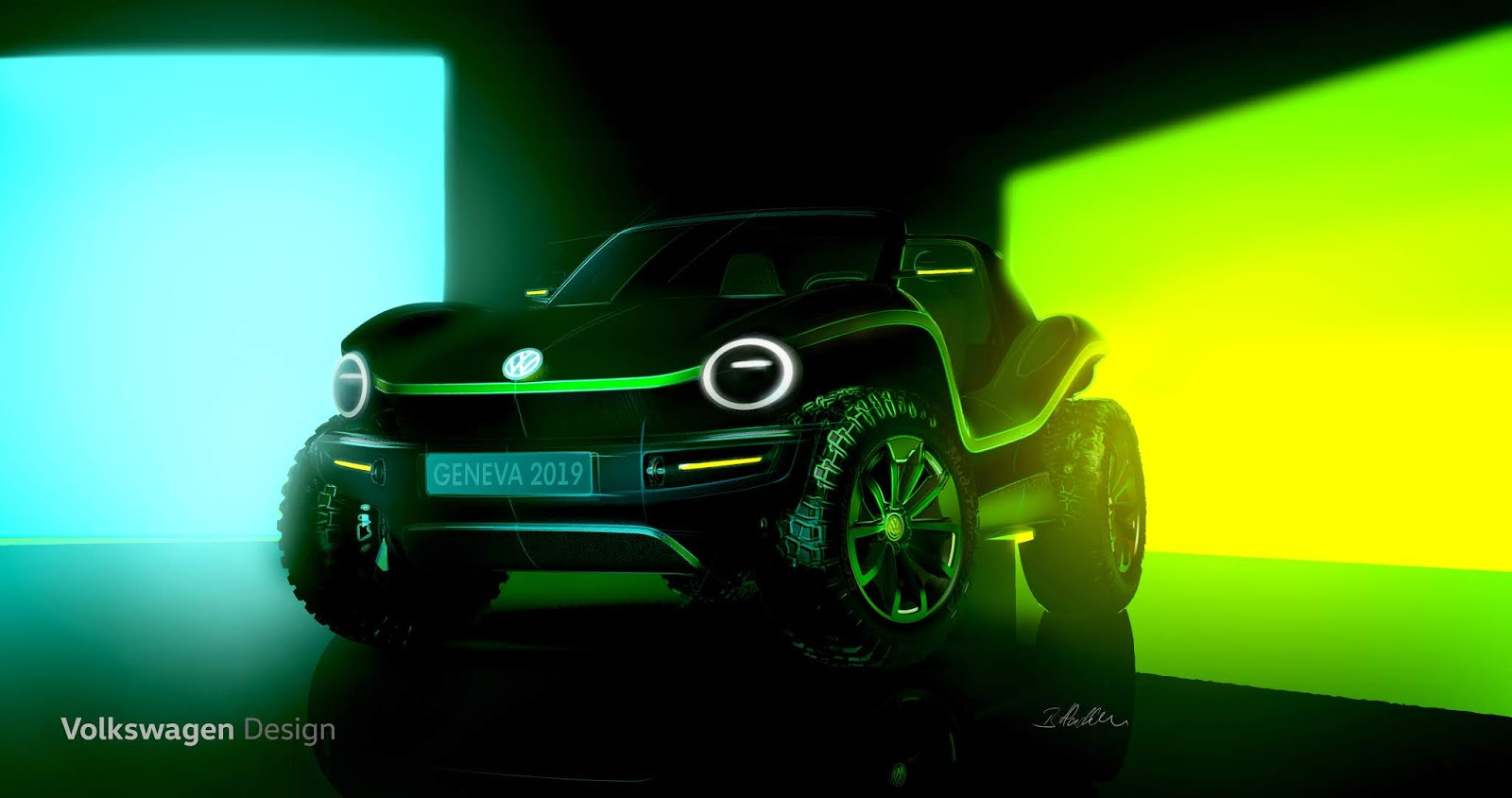 Der VW BUGGY kommt zurück und diesmal ist er ELEKTRISCH!