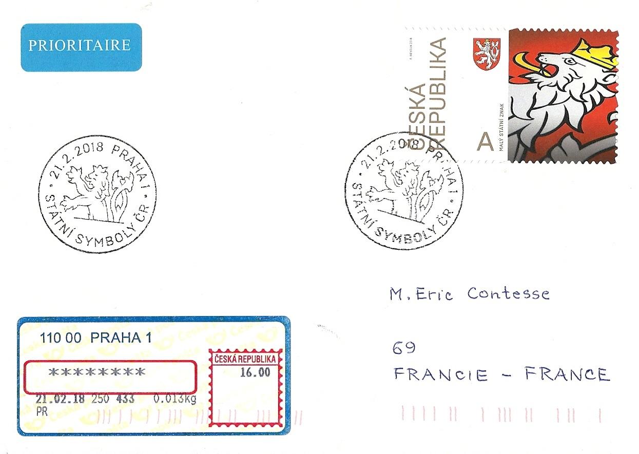 Blog Timbr De Ma Philatlie National Symbols Special Postmark