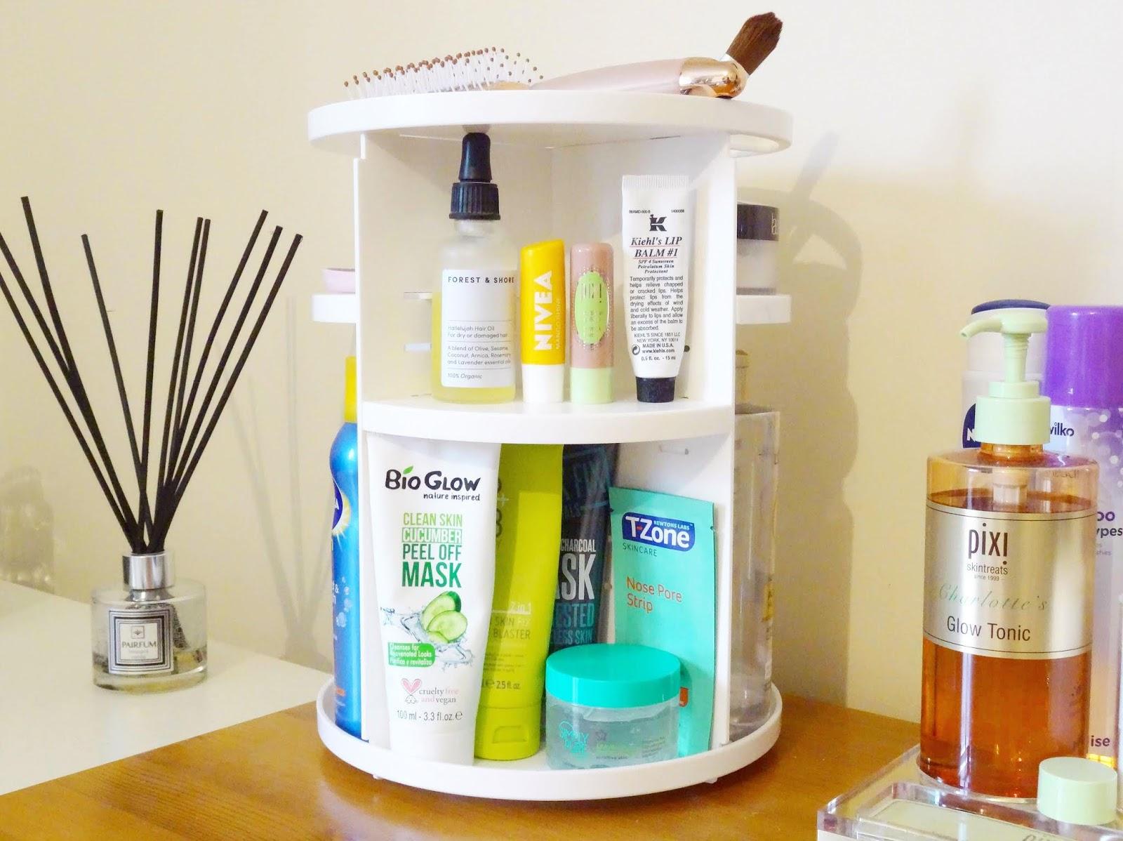 The Rotating Skincare Organiser You Need