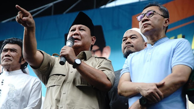 Prabowo Cerita Si Kaya Jakarta dan Warga Miskin Gantung Diri
