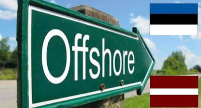 Латвия и Эстония потребовали исключить их из украинского списка офшорных зон
