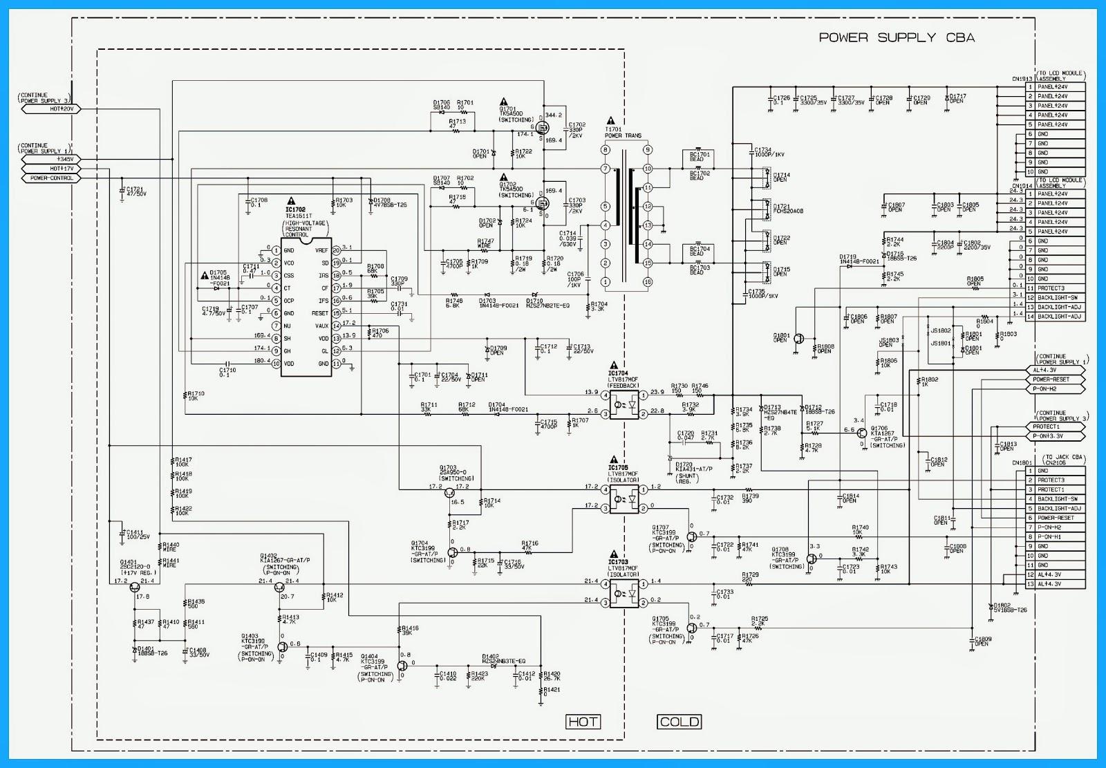 schematic diagram for emerson tvs emerson appliances emerson tv input emerson tv remote [ 1600 x 1111 Pixel ]
