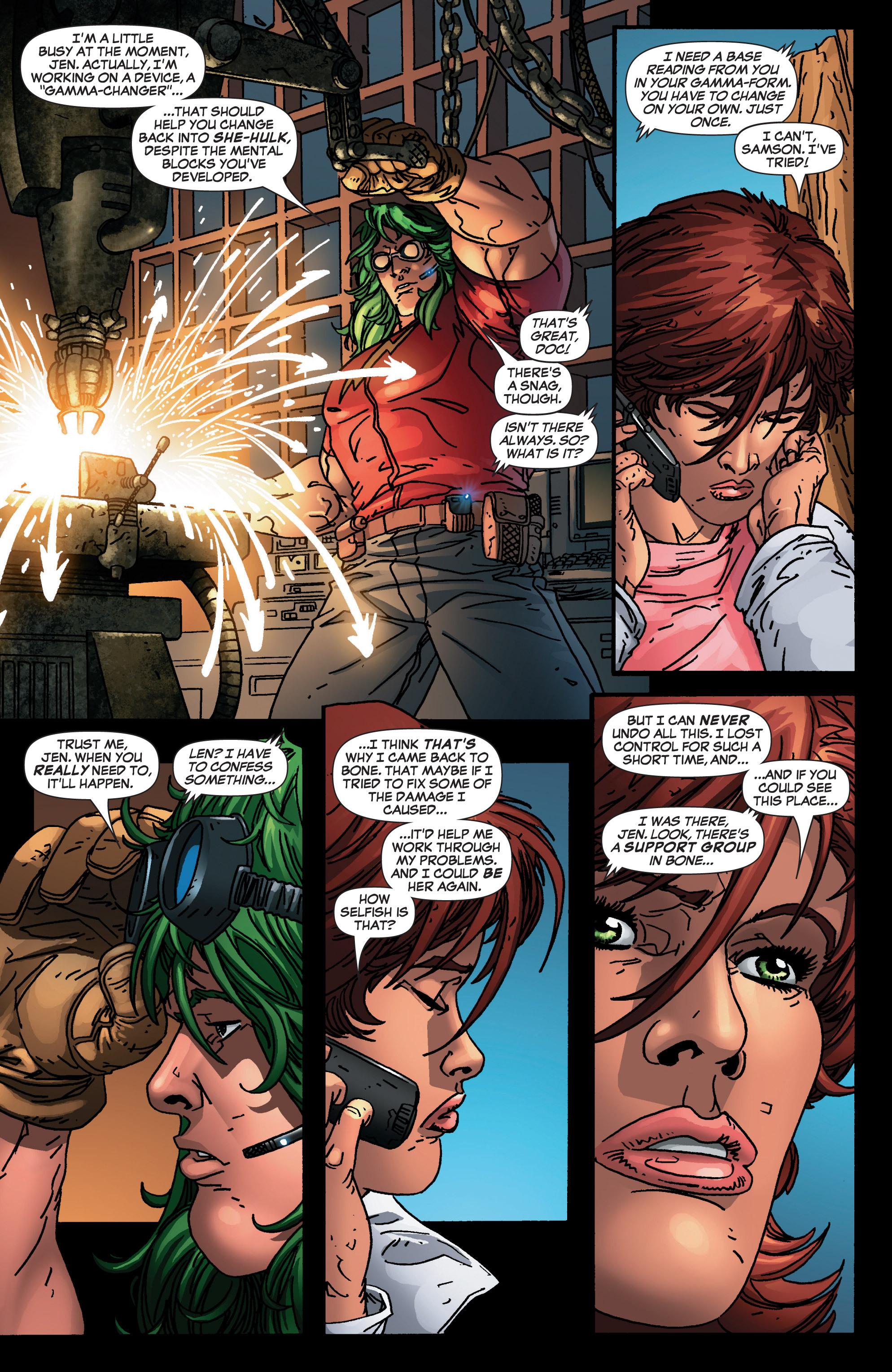 Read online She-Hulk (2005) comic -  Issue #4 - 6