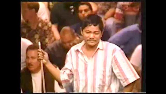 "Efren ""The Magician"" Reyes historical 1995 Z-Shot"
