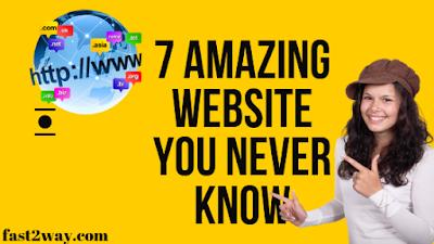 Top 10 Amazing websites 2019