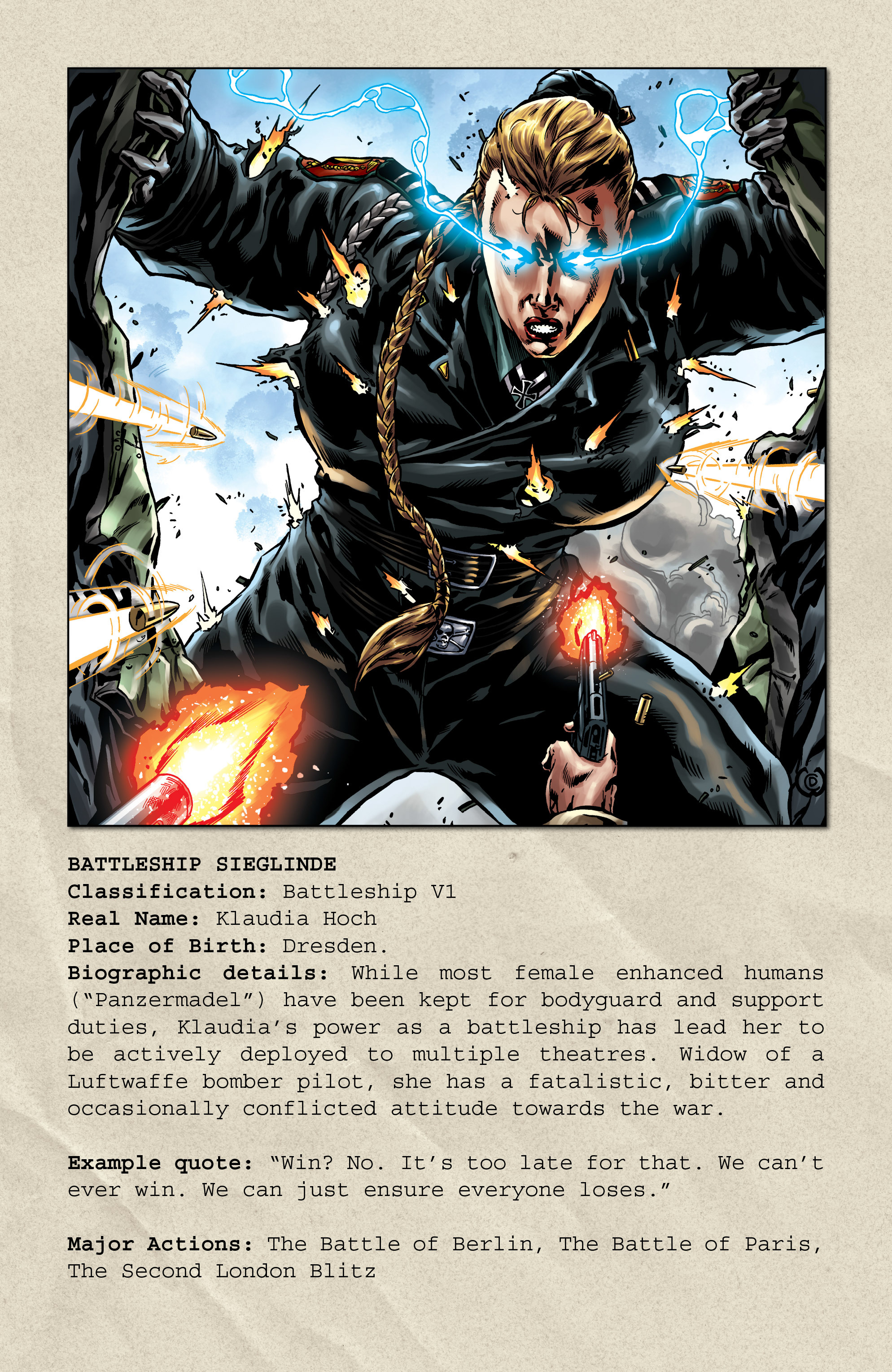 Read online Uber comic -  Issue # _FCBD - The First Cycle - 15