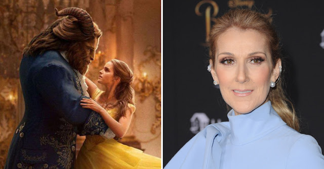 Celine Dion is back with a new Beauty And The Beast song