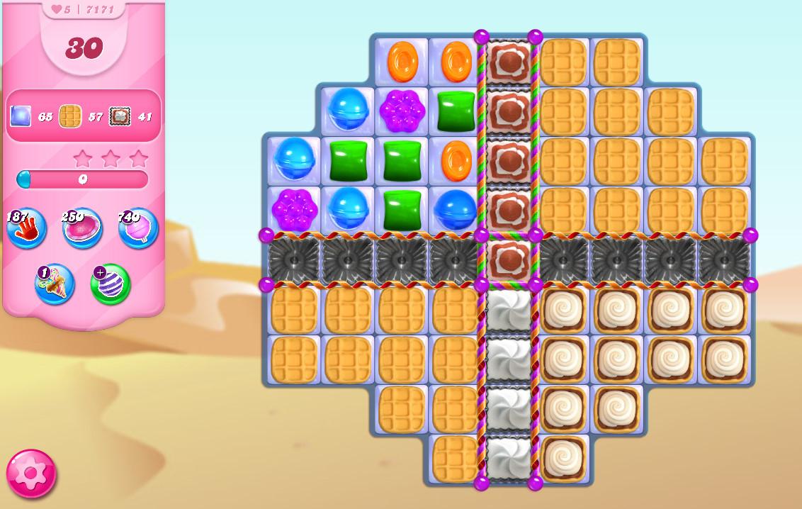 Candy Crush Saga level 7171