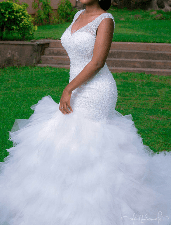 10 Latest Nigerian Wedding Dresses And Gowns At Different Styles ...