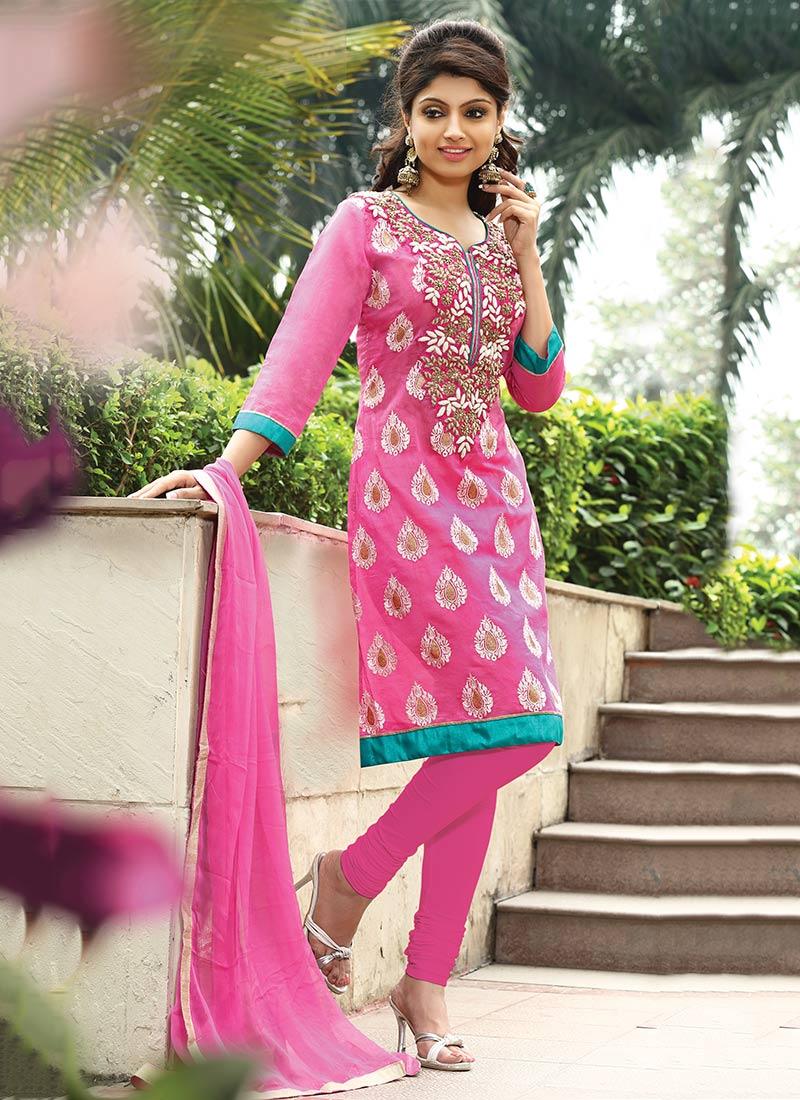 Indian Designer Churidar Suits Online
