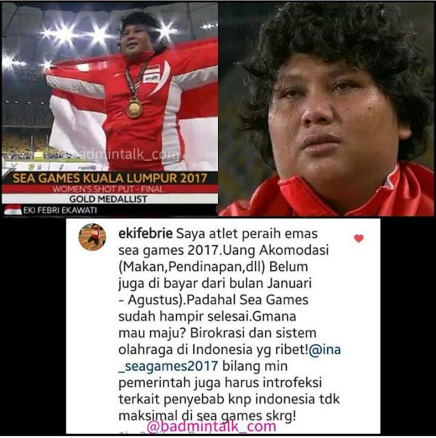 """Pengakuan Menggemparkan """"Saya Atlet Peraih Emas Sea Games 2017, Uang Akomodasi Belum Dibayar"""""""