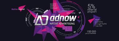 Adnow, Alternatif Google AdSense dengan Komisi Menggiurkan