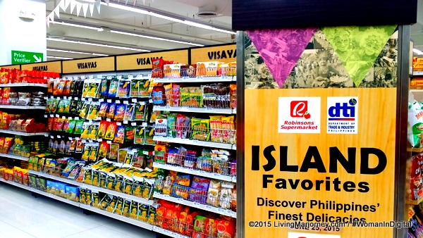 Island Favorites Section Of Robinsons Supermarket