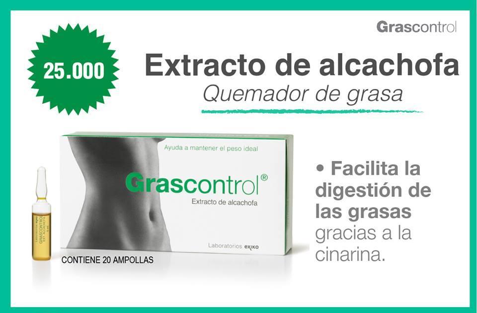 Alcachofa para adelgazar ampolletas de colageno