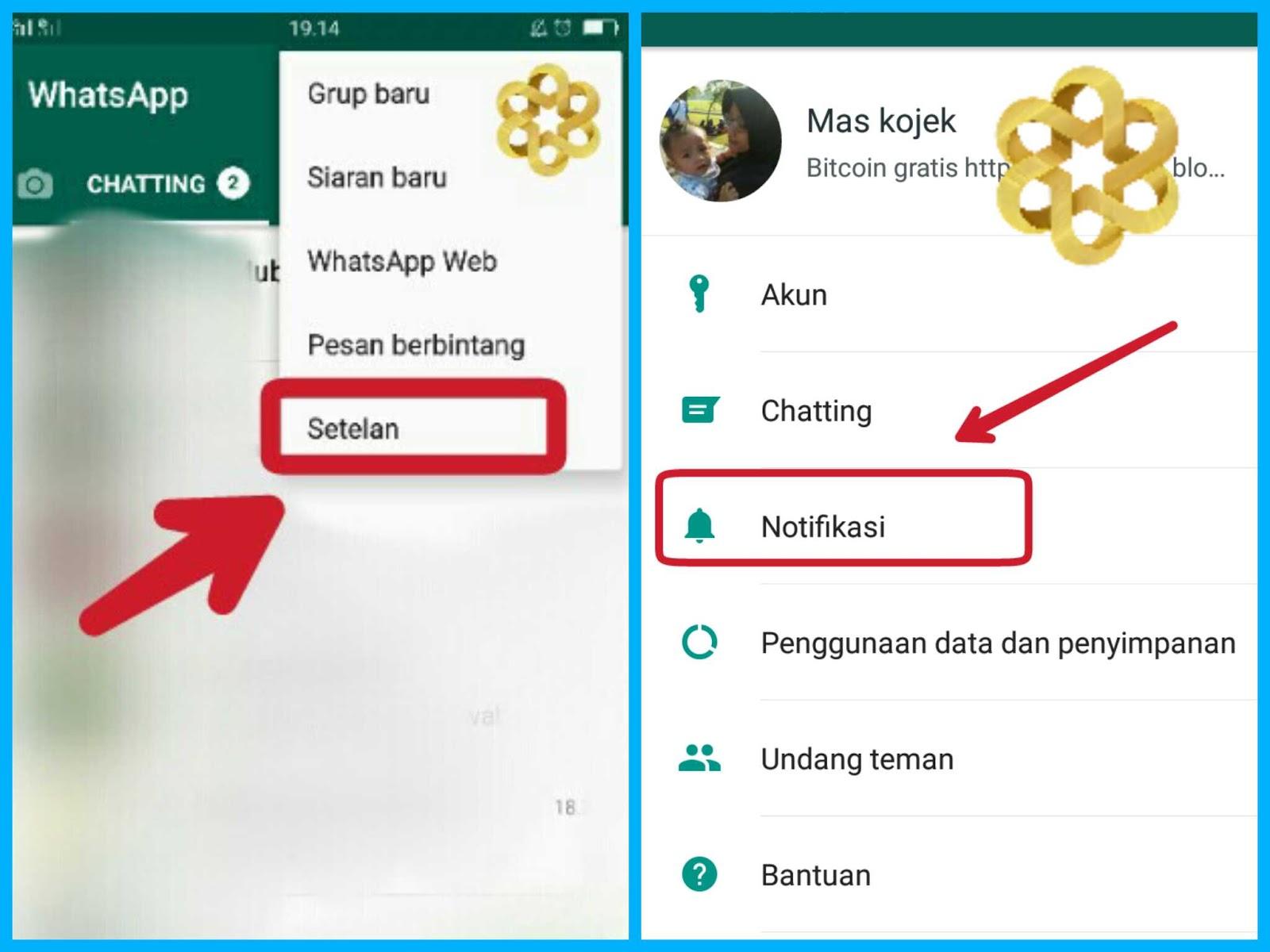 cara menyembunyikan notifikasi whatsapp di xiaomi