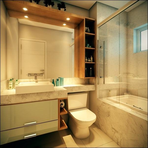 banheiro com moveis sob medida