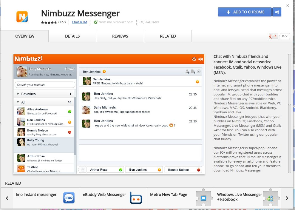 How to Install Nimbuzz on Linux Mint & Ubuntu & Chrome