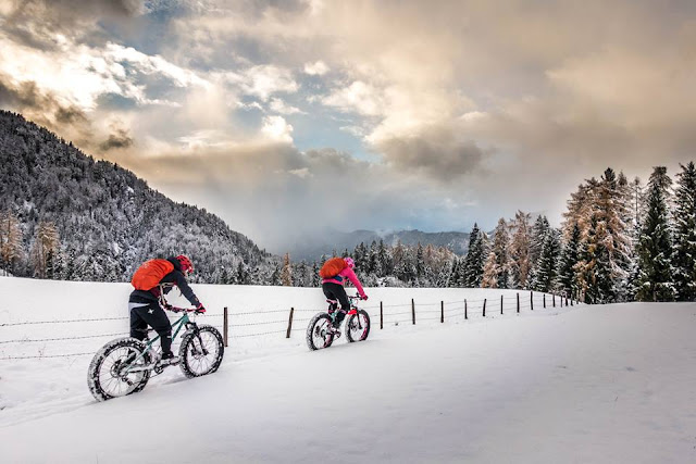 Wintertouren mit dem Mountainbike