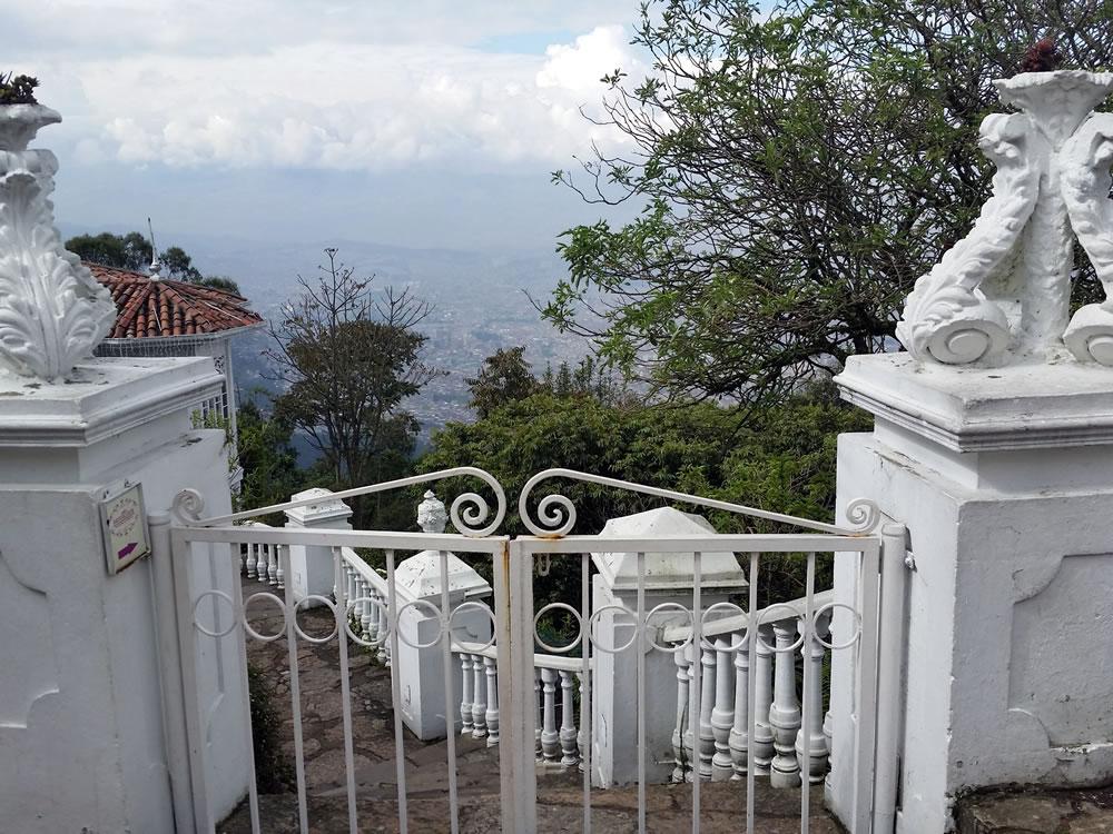 Visita ao Cerro Monserrate Bogotá