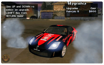 grand theft auto (GTA) san andreas NFS Carbon mod