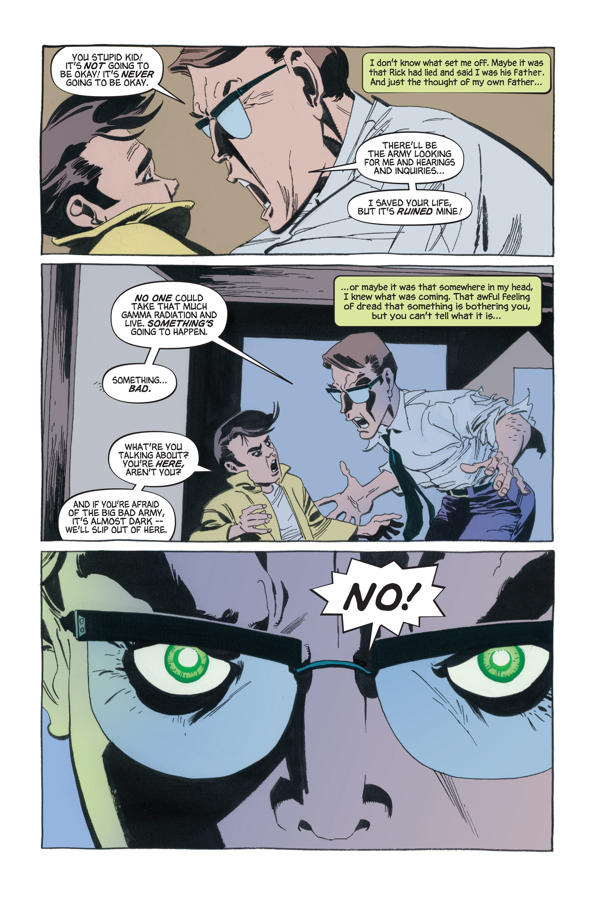Read online Hulk: Gray comic -  Issue #1 - 12