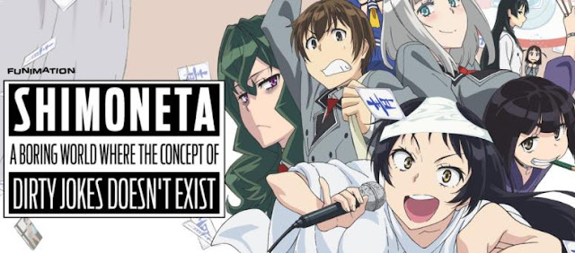 Top Best School Comedy Anime List - Shimoneta: A Boring World Where the Concept of Dirty Jokes Doesn't Exist