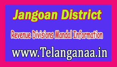 Jangoan District Revenue Divisions Mandal Information