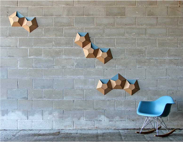 Jeri - Cardboard Wall Panels Patterns's Organizing & Decluttering News: Small Space Organizing ...