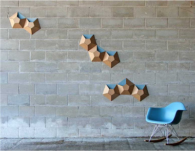 wall pockets made of cardboard