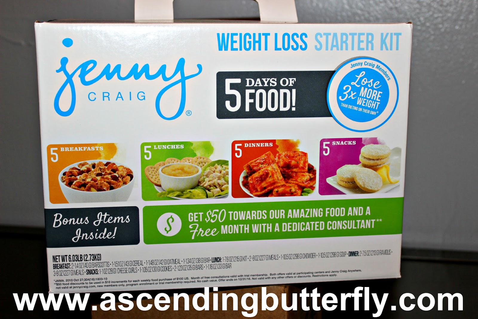 ead61d072e5 Jenny Craig's new weight loss starter kits being sold exclusively at Walmart.  If you ...
