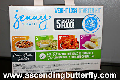 Jenny Craig's new weight loss starter kits being sold exclusively at Walmart