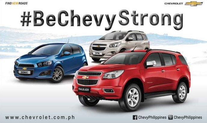 BeChevyStrong Campaign
