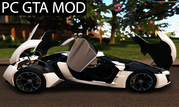 Free Download 2014 Lykan Hypersport  Mod for GTA San Andreas.