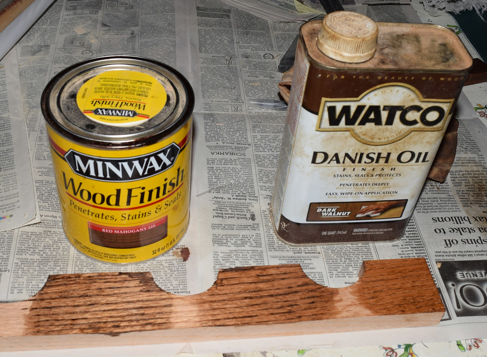 Dark Walnut Danish Oil
